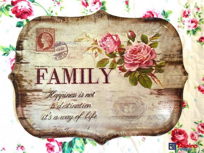 Tabuľka Family 32x25cm, 19,90€, 93324ART