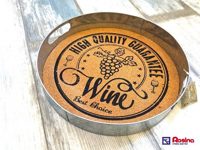 Tácka  Podnos Wine 34cm, 19,70€, 94097ART