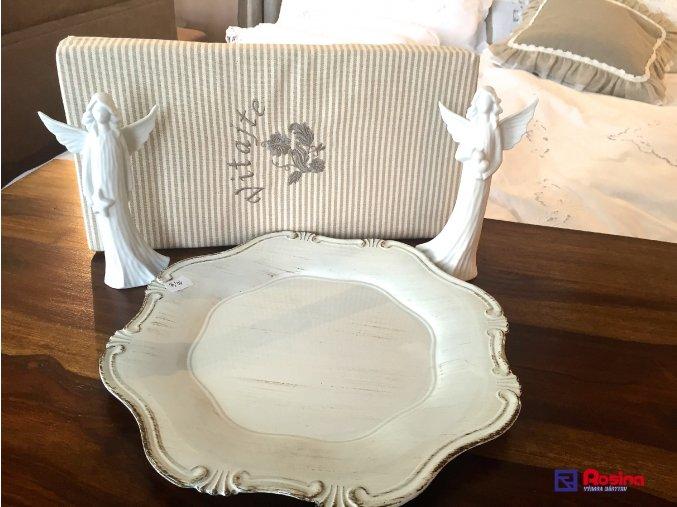 Tanier Provence biely 32,5x32,5cm, 10,00€, 5540400TRE