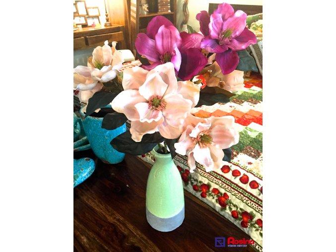 Váza zelenošedá 31cm, 15,00€, 7632900TRE