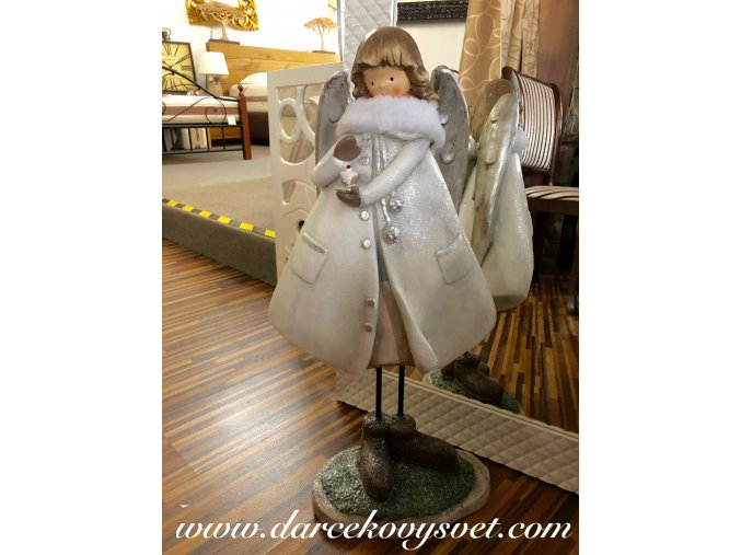 Soška Anjelik Biely 64cm, 66,00€, 235987TRE