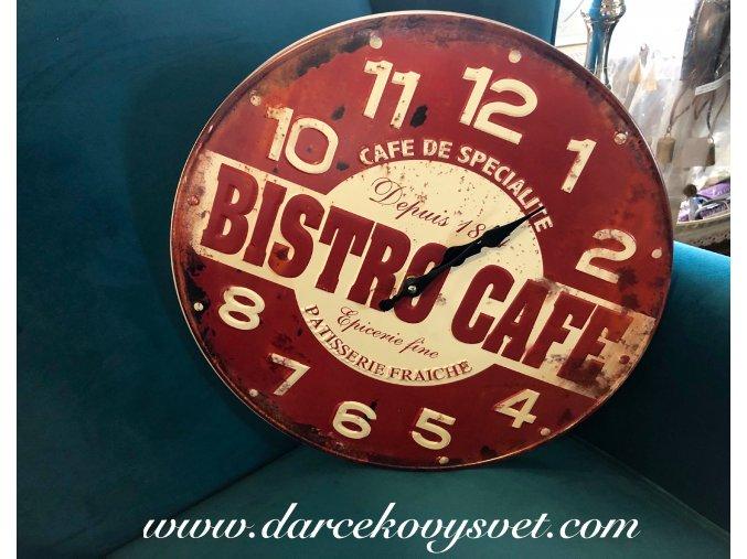 Hodiny Bistro Cafe 39cm, 24,00€, 18481TRE