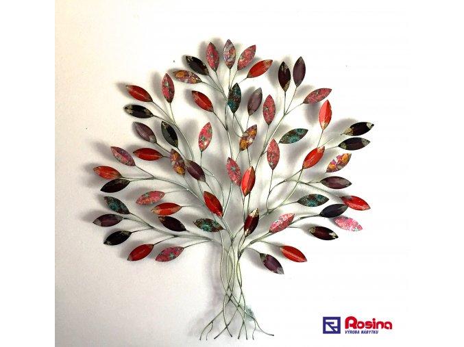 Dekoračný kovový Strom farebný 85x90cm, 126,00€, 23178TRE