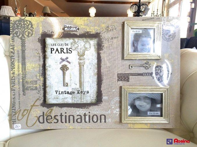 Fotorámik Plátno Les Clei de Paris 60x40cm, 26,00€, 2588500TRE