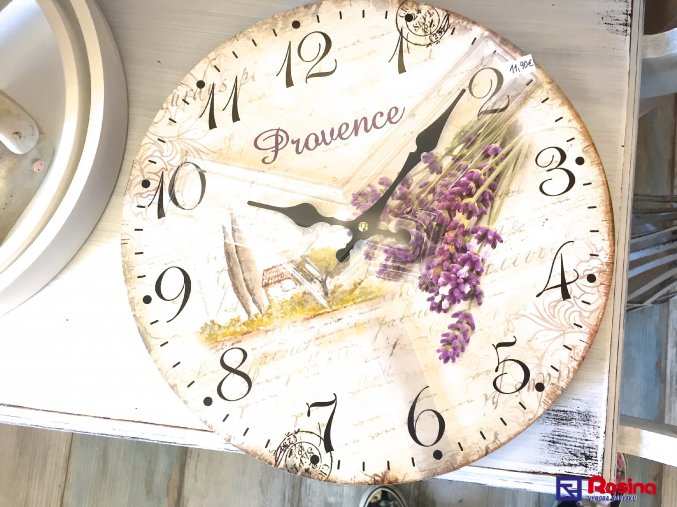 Hodiny Provence Levander 34cm, 11,90€