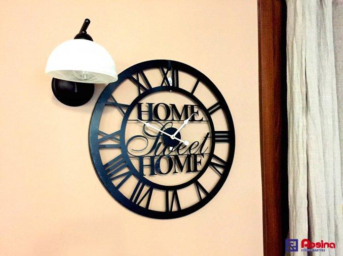 Kovové hodiny Home Sweet Home 60x60cm, 55,00€, 35167TRE