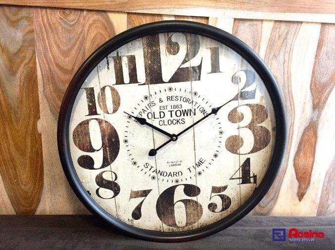 Kovové hodiny London Standard Time 50x50cm, 120,00€, 18906TRE