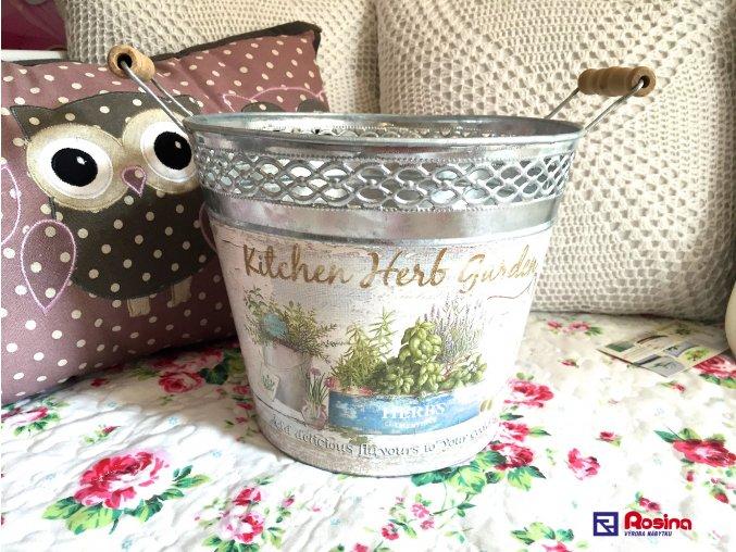 Kýblik Kitchen Herb Garden veľký 22cm, 12,90€, 03313A9653HAR