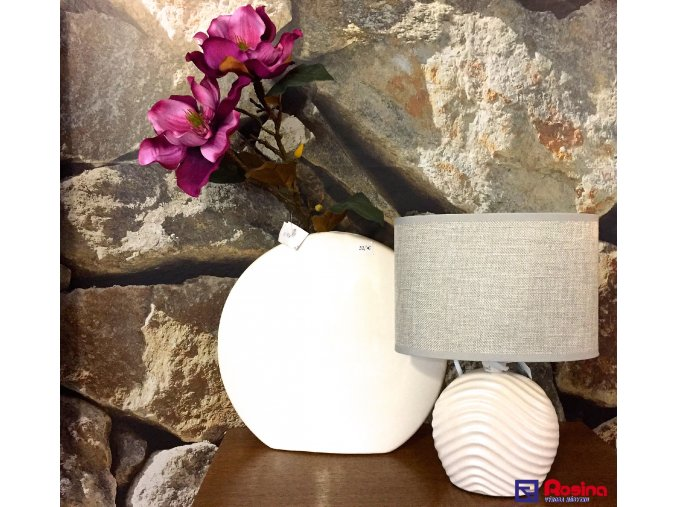 Lampa Biela Vlnka 27cm, 24,00€, 8095300TRE