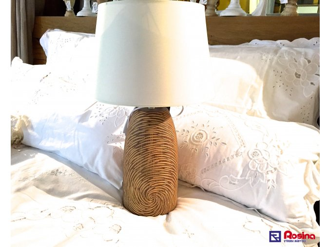 Lampa Hnedá 57cm, 115,00€, 79320TRE