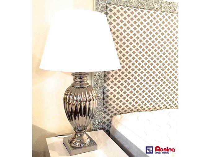 Lampa Luxury strieborná veľká 78cm, 139,00€, 32.015.01TRE