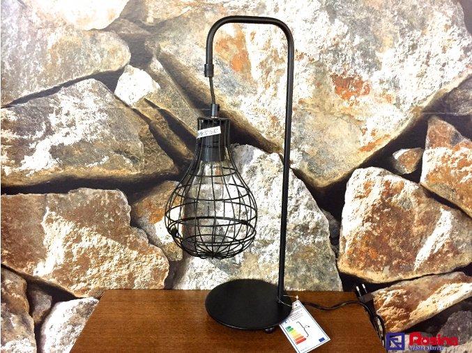 Lampa Žiarovka čierna kovová 48cm, 68,00 €, 8085800TRE