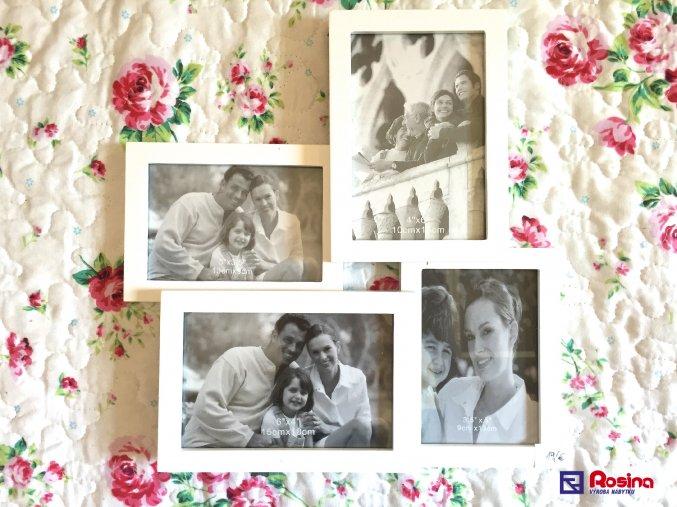 Rodinný fotorámik biely stredný 32x30cm, 19,00€, 93357ART