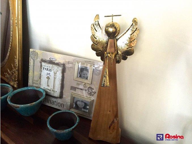 Anjel Zlatý veľký 69,5cm, 56,00€, 1136200TRE
