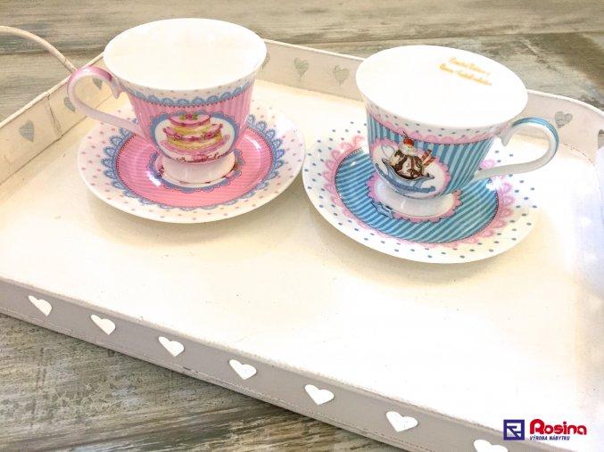 Set SweetCake 2+2 v darčekovom balení 9x15x15cm, 39,00€, 96178ART