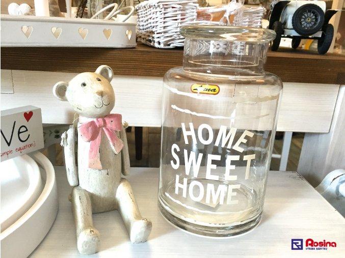Sklenená nádoba Home Sweet Home 23,5cm, 15,90€, 94372ART