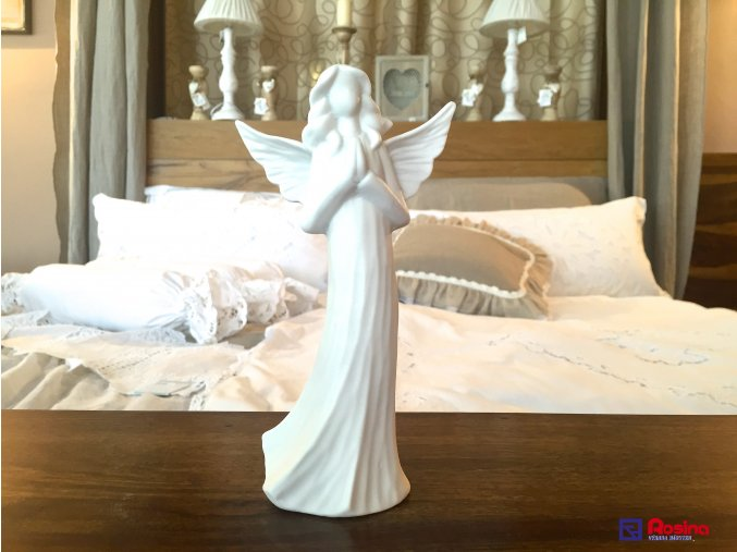 Soška Biely Anjelik modliaci 18cm, 9,90€, 16166TRE