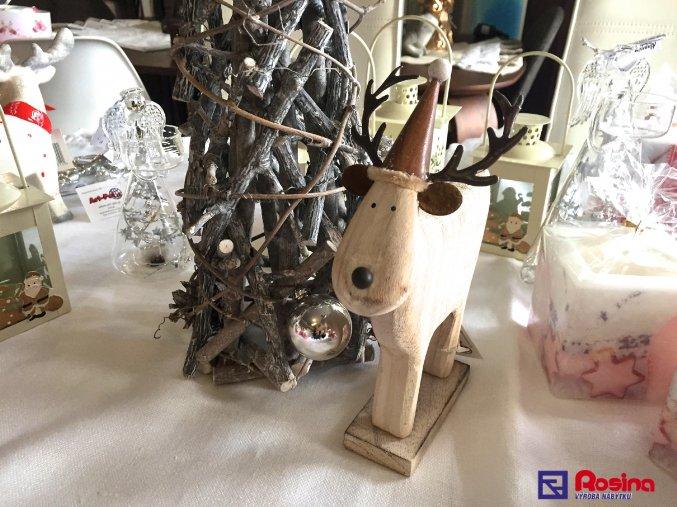 Soška drevenný sobík 20,5cm, 20,90€, 96023ART