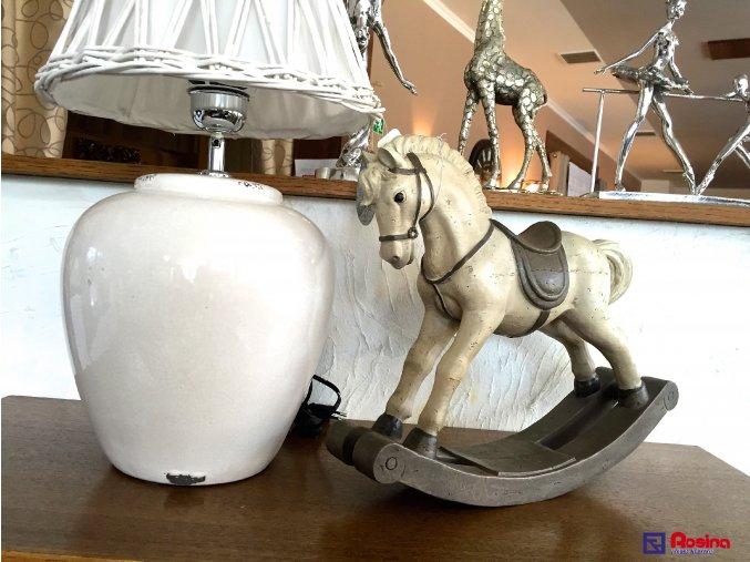 Soška Koník Patina krémový 38,5cm, 69,00€, 6PR0417TRE