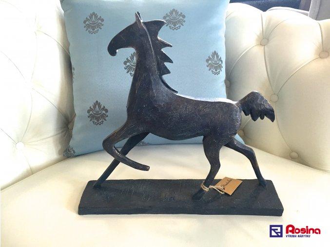 Soška Kôň čierny 30,5x35cm, 49,00€, 213510TRE
