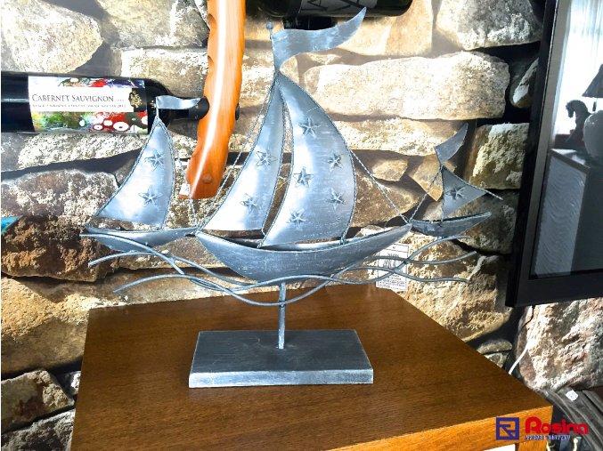 Soška Ľoďka kovová 42x48cm, 54,00€, 3062500TRE