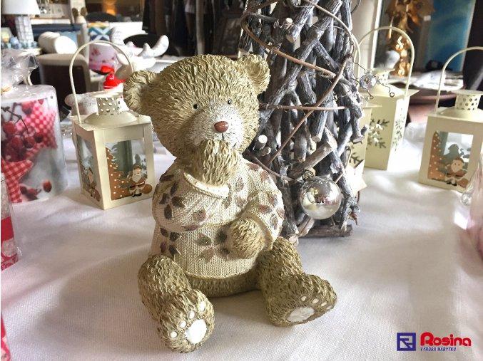 Soška Macko Vianočný 17cm, 23,60€, 00532207HAR