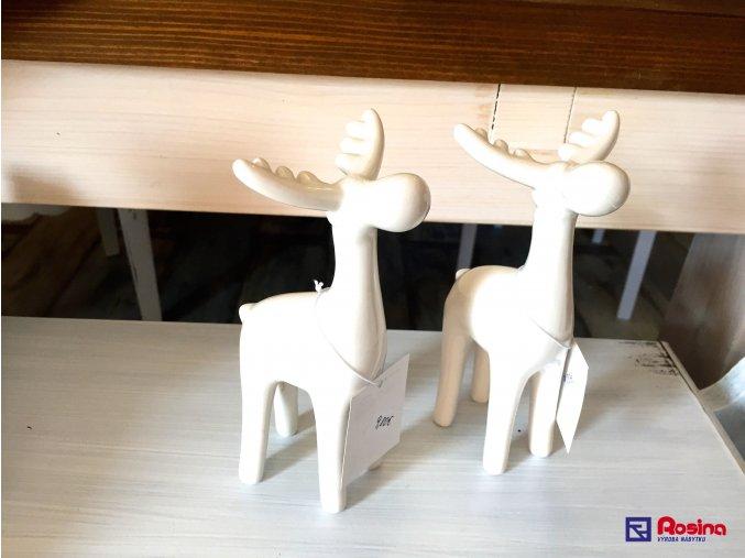 Soška Sobík biely 16,5cm, 9,80€, 96353ART