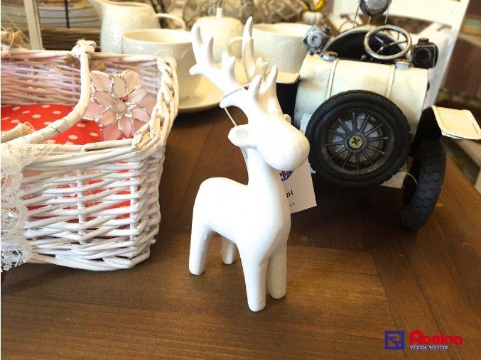Soška Sobík biely malý 13cm, 7,50€, 96273ART
