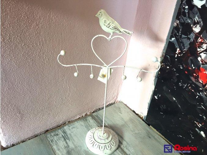 Stojan  Vešiak na šperky biely Provence 42, 5cm, 21,00€, 641416MW TRE