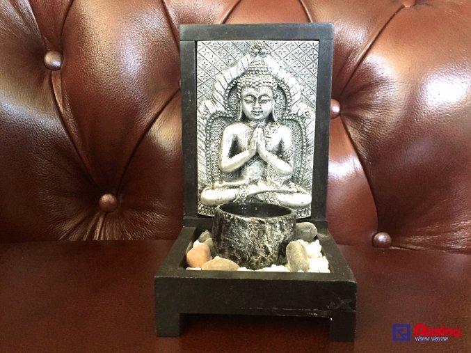 Svietnik Budha 15,5x10cm, 8,00€