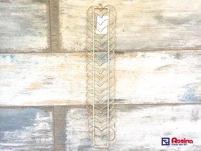 Vešiak na fotky  odkazy Srdiečka 51cm, 12,00€, 7231300TRE