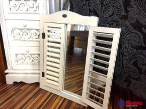 Zrkadlo Okienko biele 35x50,5cm a 58x50,5cm, 48,00 €, 4344300TRE