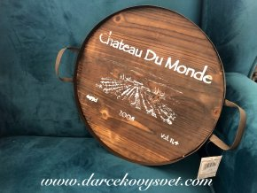 Tácka Chatea Du Monde hnedá 34,5cm, 14,00€, 2786200TRE