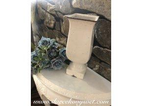 Biela váza 32,5cm, 44,00€, TRE