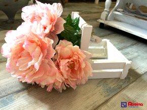 Debnička na kvetináče biela 40x22,5cm, 13,00€, 703139ART