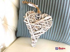 Dekoračné slamené Srdce 19cm, 5,20€, 03671215HAR