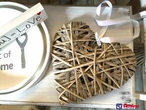 Dekoračné Srdce 28x30cm, 12,00€, 11115HAR