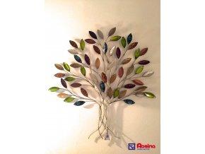 Dekoračný kovový Strom farebný Zelený 85x90cm, 126,00€, 3502800TRE