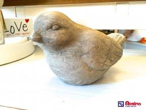 Dekoračný vtáčik 11x19x11cm, 8,20€, 94477ART