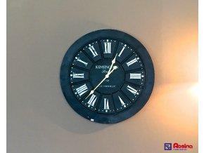 Kovové čierne hodiny KENSINGTON 70x70cm, 95,70€, 735815TRE
