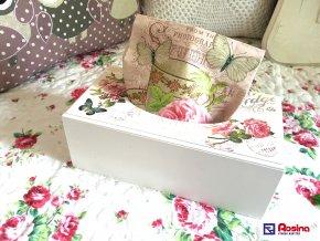 Krabička na servítky Romantic Rose 25,5x13,5cm, 21,10€, 97890ART