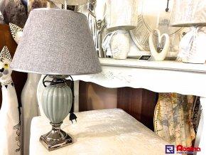 Lampa Luxury šedo strieborná 51cm, 69,00€, TRE