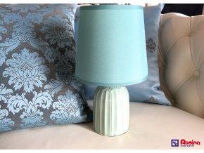 Lampička Romantic zelená malá 28,5cm, 26,00€, 8095100TRE