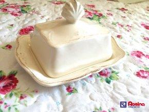 Maslovnička Provence porcelán 9x16x14cm, 14,80€, 90795ART