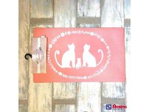 Rohožka pred dvere Mačičky 73x44cm, 14,90€, MC108TRE