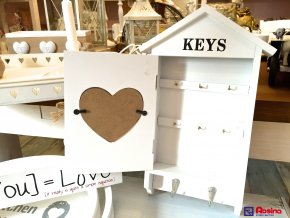 Skrinka na kľúče Bonheur Keys 35x21cm, 25,50€, 87077ART.