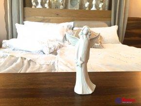 Soška Biely Anjelik s mesiačikom 18cm, 9,90€, 16166TRE