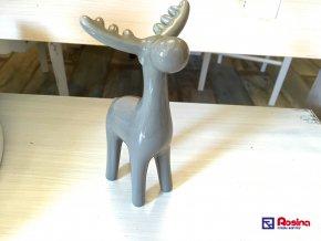 Soška Sob šedý 17cm, 9,80€, 96354ART