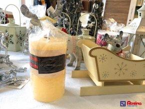 Sviečka Vianočná voňavá 12cm, 6,90€, 84546ART