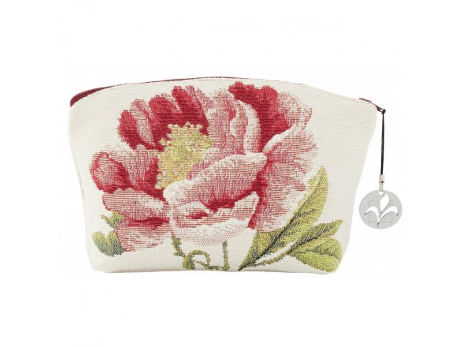 cosmetic bag tapestry cosmetic bag peonies